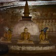 Buddha statues in Dambulla, Sri Lanka — Stock Photo