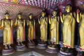 Buddha statues in Dambulla, Sri Lanka — Stock Photo