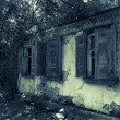 Old abandoned house — Stock Photo