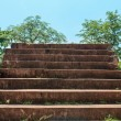 Stone stairs to the sky — Stock Photo