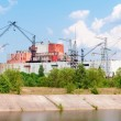 Stock Photo: Chernobyl nuclear power station incompleted part