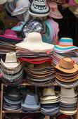 Hüte auf ein geschäft — Stockfoto