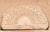Característica piedra única luna de sri lanka arquitectura — Foto de Stock