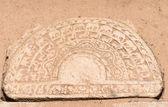 Pierre caractéristique de lune de l'architecture du sri lanka — Photo