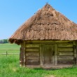 Village wooden storehouse — Stock Photo