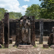 Statues in ancient temple, Polonnaruwa, Sri Lanka. — ストック写真