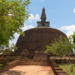 Buddhist dagoba (stupa) Polonnaruwa, Sri Lanka — Stock Photo