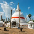 Stock Photo: Thuparamaya dagoba in Anuradhapura, Sri Lanka
