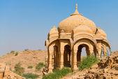 Royal cenotaphs, Bada Bagh, India — Stock Photo