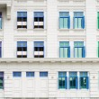 Retro windows with shutters — Stock Photo
