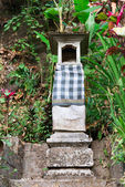 Casa tradicional balinesa de espíritus — Foto de Stock