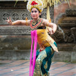 Traditional classical Legong dance on Bali — Stock Photo