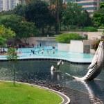 KLCC Park in Kuala Lumpur, Malaysia — Stock Photo #33832017