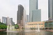 Lake Symphony fountain in Kuala Lumpur — Stockfoto