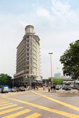 Big crossroads in Kuala Lumpur — Photo