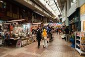 Interior do mercado central de kuala lumpur — Fotografia Stock