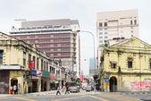 Chinatown street in Kuala Lumpur — Stock Photo