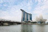 Marina Bay Sands Singapore — Stock Photo