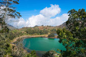 Volcanic colorful lake — Foto Stock