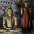 Ancient Buddha statue images — Stock Photo