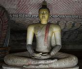 Ancient Buddha statue image — Stock Photo