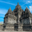 Candi Sewu Buddhist complex in Java, Indonesia — Stock Photo