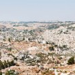 Panoramic view of Jerusalem old city — Stock Photo