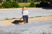 Vzestup zrna sušicí, bali, indonésie — Stock fotografie