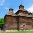 Antique wooden church — Stock Photo