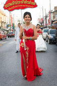 Old Phuket town festival — Stock Photo