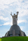 Monumental statue Mother Motherland in Kiev, Ukraine — Stock Photo