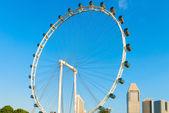 Giant Ferris wheel Singapore Flyer — Foto de Stock