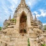 Ruins of acient stupa at Buddhist temple — Stock Photo #51421783