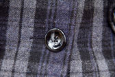 Button on a coat — Stock Photo