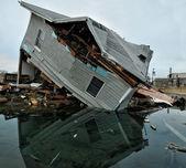 Hurricane Sandy, Jersey shore — Stock Photo
