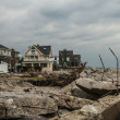 Hurricane Sandy - Stock Photo