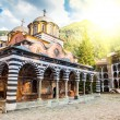 Rila monastery, a famous monastery in Bulgaria — Stock Photo #19016395