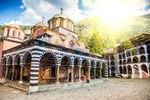 Rila monastery, a famous monastery in Bulgaria — Stock Photo