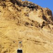 Stock Photo: Cable Car to Masada, Israel