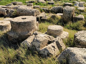 Caesarea Maritima Ruins — Stock Photo
