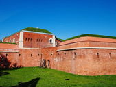 Zamosc Walls, Poland — Stock Photo