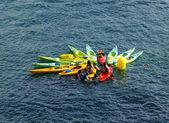 Kayaks in Donostia - San Sebastian — Stock Photo
