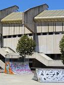 Empty Skate Park in Donostia - San Sebastian — Stock Photo