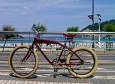 Bike in Donostia - San Sebastian — Stock Photo