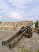 Old Cannon in Donostia - San Sebastian — Stock Photo