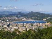 Donostia - san sebastian, görünümden dağı ulia — Stok fotoğraf