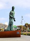 Alfredo Kraus Monument in Las Palmas, Gran Canaria, Canary Islands, Spain — Stock Photo