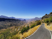 Road on Gran Canaria, Canary Islands, Spain — Stock Photo