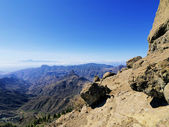 Roque Nublo(Nublo Rock), Gran Canaria, Canary Islands, Spain — Stock Photo