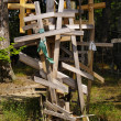 Orthodox Crosses, Garbarka, Poland -  